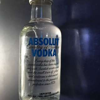 30 Bottles Of Absolut Vodka Miniatures(50ml)