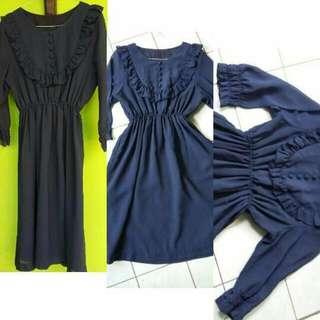 PRELOVED | Navy Dress