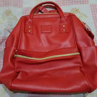 ANELLO Leather Mini Backpack
