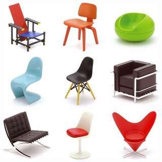 🚚 Design Interior Collection/ Designers Chair