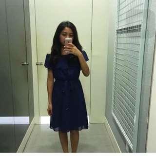 Dorothy Perkins Navy Dress