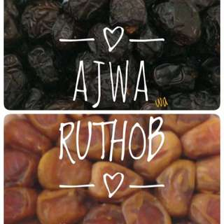 Kurma Ruthob Dan Ajwa