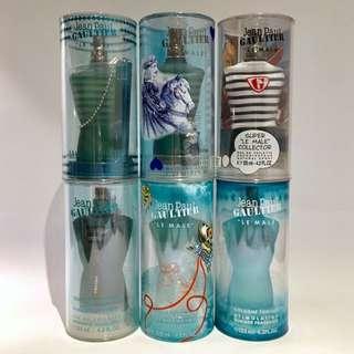 Le Male Jean Paul Gaultier Colognes (13 Bottles)