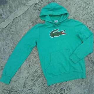 Authentic Lacoste Pullover Hoodie Jacket