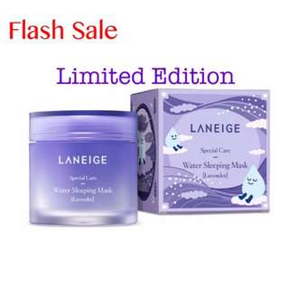 IN STOCK-Laneige Limited Edition Lavender Water Sleeping Mask
