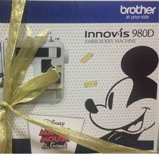 Brother Disney embroidery sewing machine