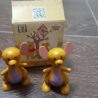 71Winnie The Pooh木公仔
