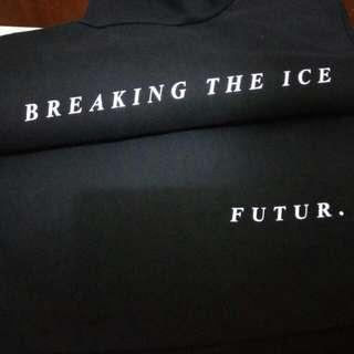 FUTUR  Steady Ice Warmer Vest  Made in EUR  100%全綿拉鍊背心