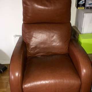 Leather Chair And Couch