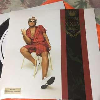 Bruno Mars 24k Vinyl