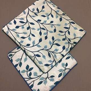 Leaf Design Cushion Covers
