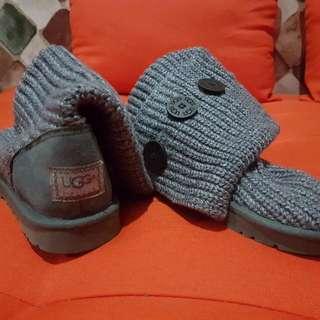 UGG-Australia Sepatu Semi Boot Wool/Rajut