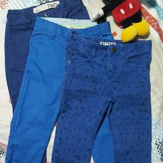 Boy Pants H&M and Cotton On Kids