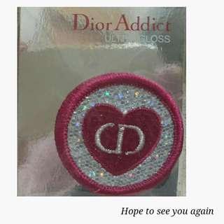 ★Dior迪奧 CD刺繡胸針☆二款可選