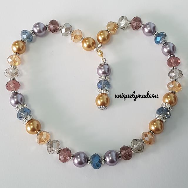 33 Crystals Swarosvki Pearls Tasbih (Reserved)