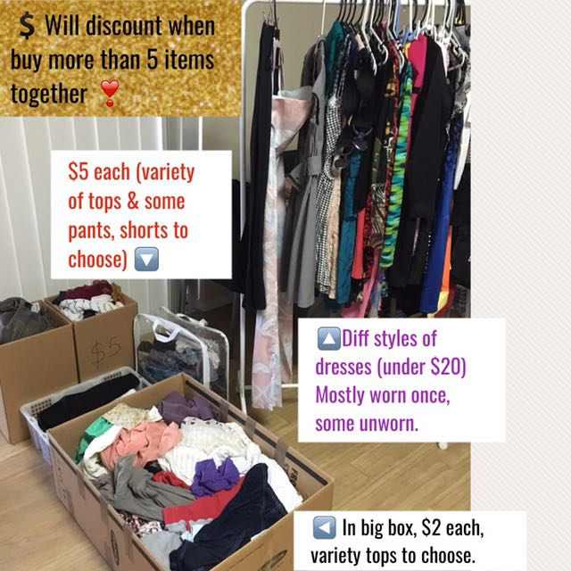 $5 & Under Clearance - Closet Clean Out!