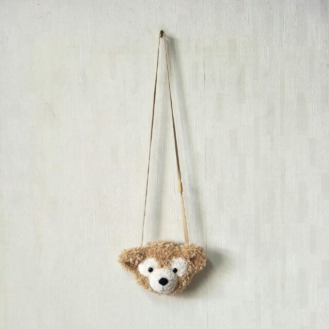 🍏迪士尼 正版 達菲熊 小包 側背包