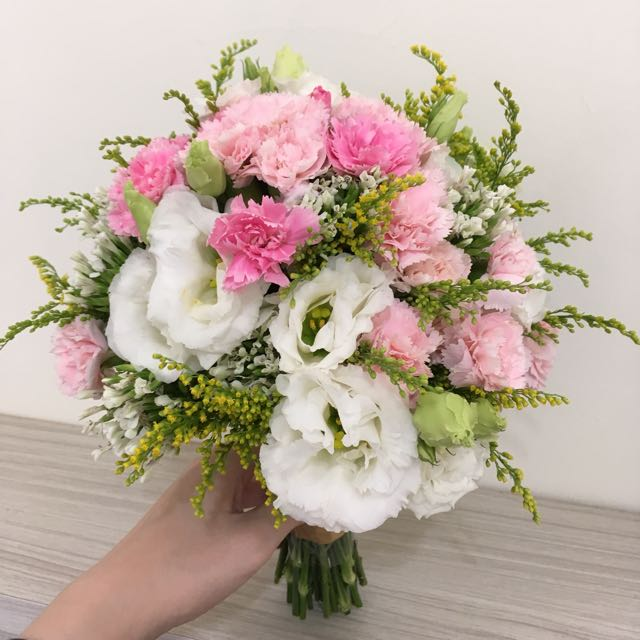 新娘捧花 歐式捧花 美式捧花 拍照花束 婚禮鮮花捧花