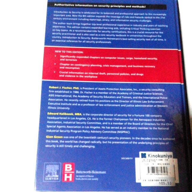 🆙 Introduction to Security - 8th Edition Butterworth-Heinemann