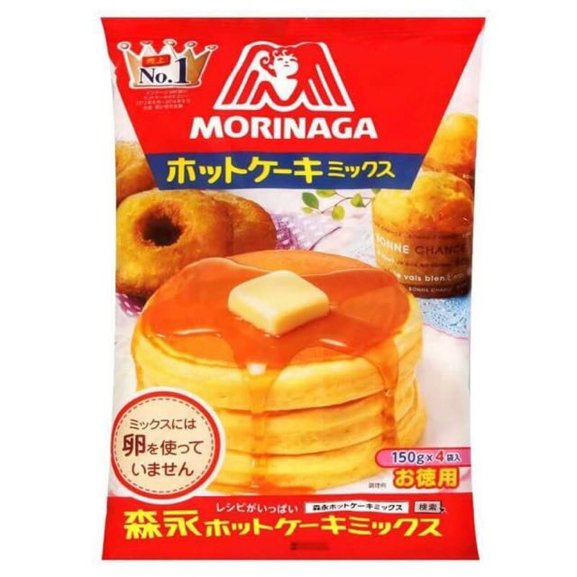 日本 Morinaga森永鬆餅粉 600g(150g*4袋)*1包