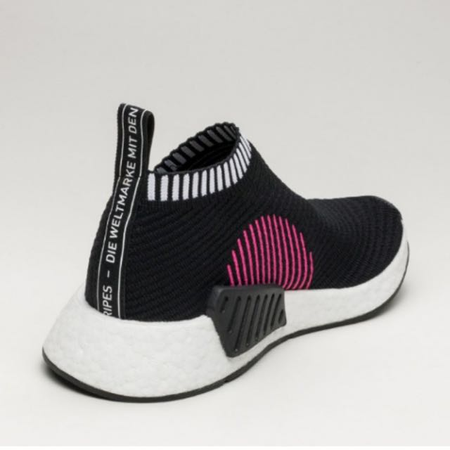 688fb07c4 ADIDAS NMD CS2 CITY SOCK PK (CORE BLACK SHOCK PINK) US9 UK8.5 ONLY 1  AVAILABLE