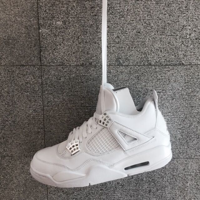 size 40 db42c 5e4c2 AIR JORDAN 4 PURE MONEY | NIKE | AUTHENTIC | WHITE | LIMITED ...