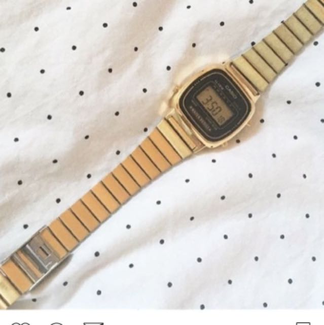 American Apparel Casio Watch
