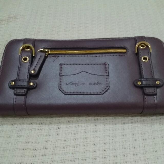 Ange-aile Purple Wallet