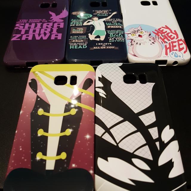 Anime Phone Covers: YOI & HQ