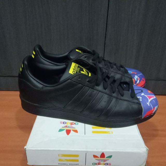 Authentic Adidas Superstar Tod James (Pharrel william)