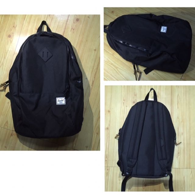 Authentic BLACK HERSCHEL BAG PACK (BRAND NEW)