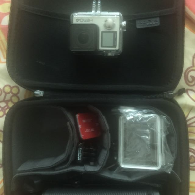 Authentic Go Pro 4 Silver