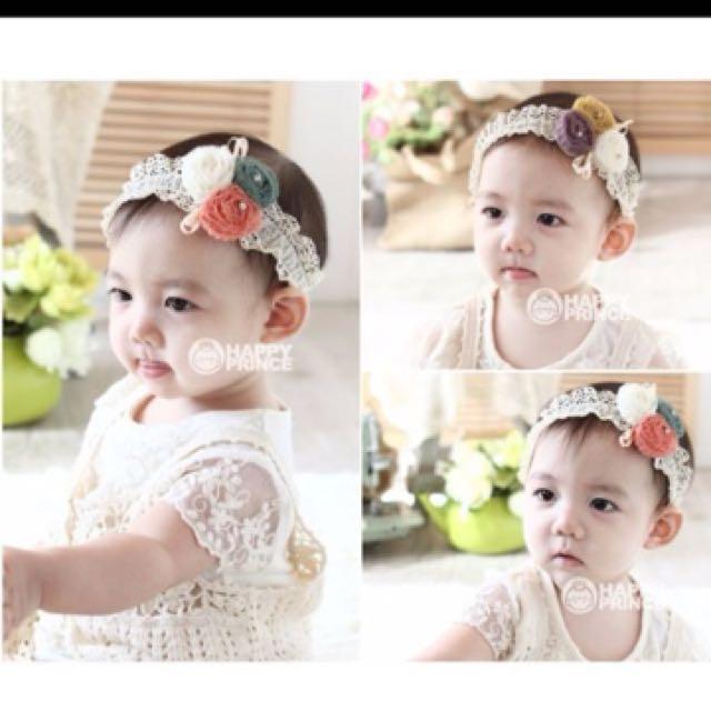 Baby Infant Girl Headband