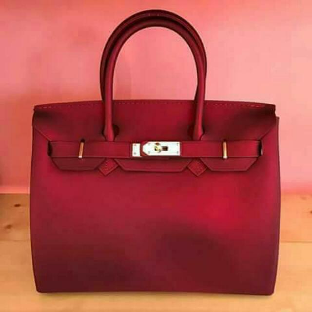 Beachkin Bag Matte Red #InstantCash