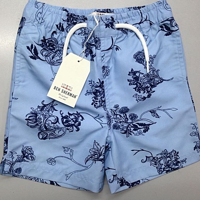 30456ea9a393 BEN SHERMAN Boy s Swimshort with inner Mesh Linning