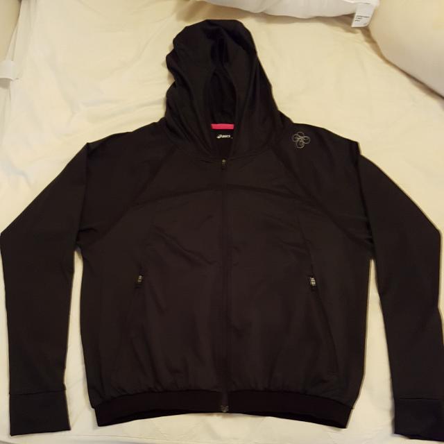 Black Asics Jacket
