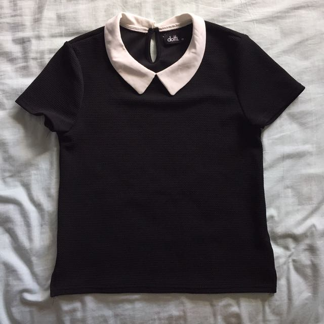 Black Collared Shirt