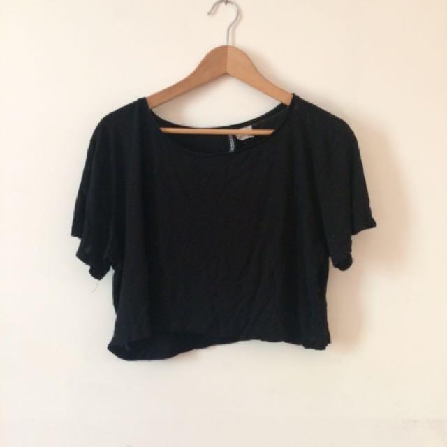 Black H&M Crop