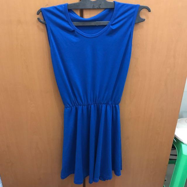 Blue Shock Dress