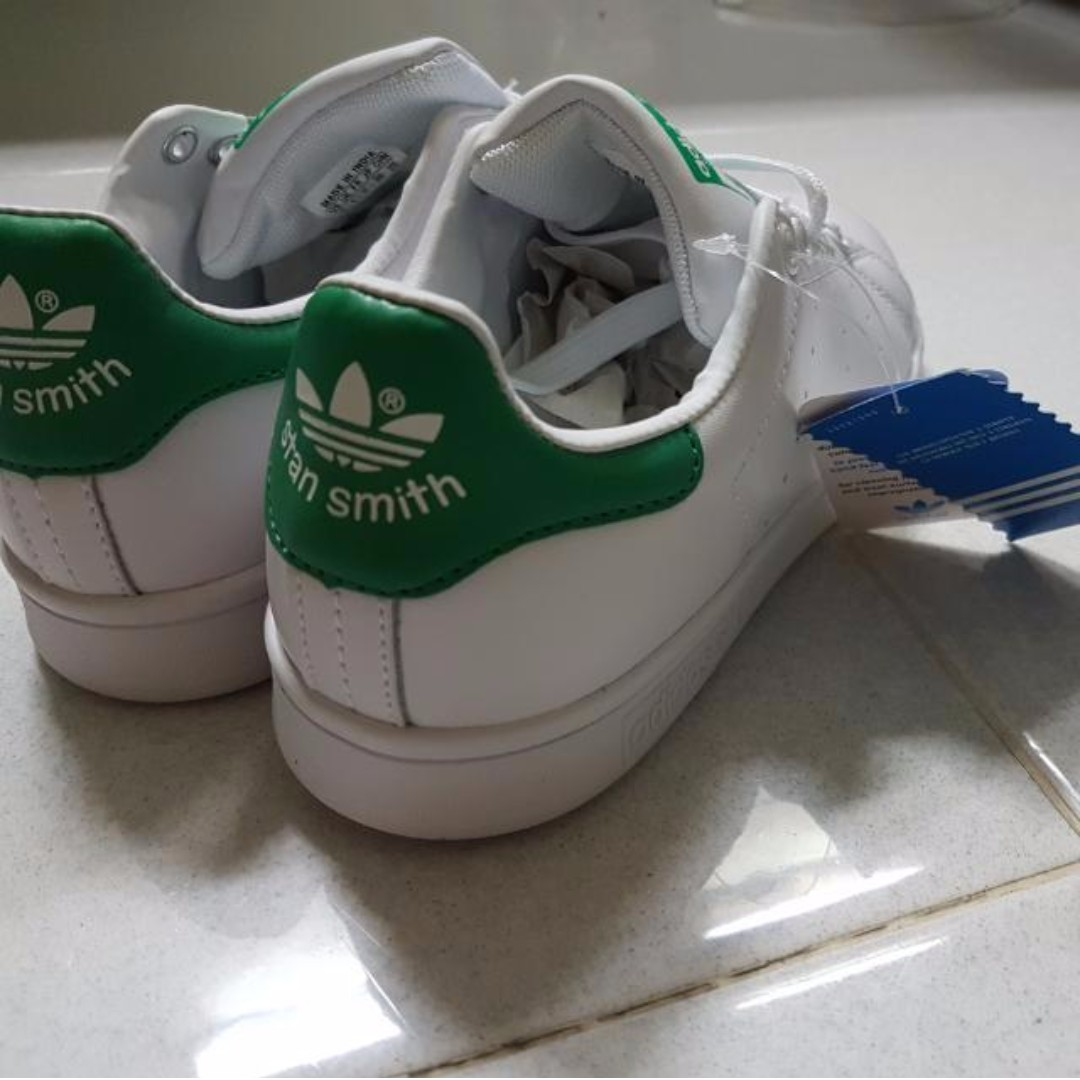 ec1b9e98b9 BNIP Authentic Stan Smith Green Adidas W US 6 UK 4. 5, Women's ...