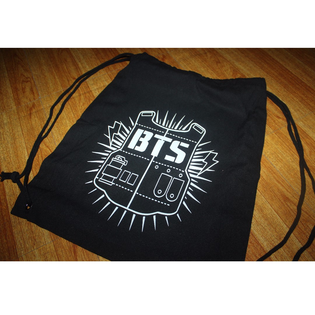 BTS STRING BAG on Carousell