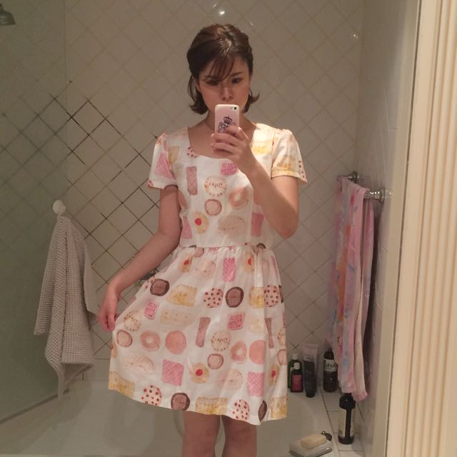 Caitlin Shearer Cookie Biscuit Dress