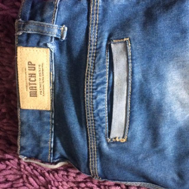 Celana Jeans Model Robek