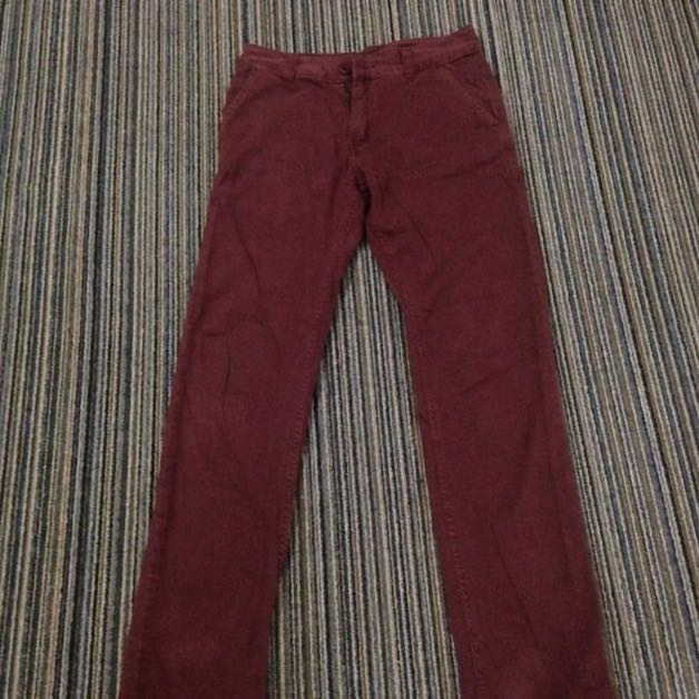 Chinos Jeans Dark purple(MAROON)
