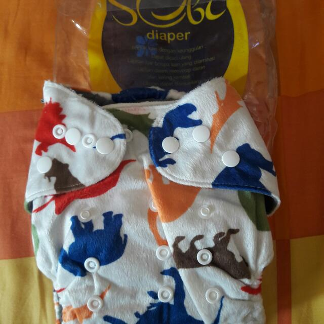 Clodi Sobi Minky Bamboo New Cloth Diaper