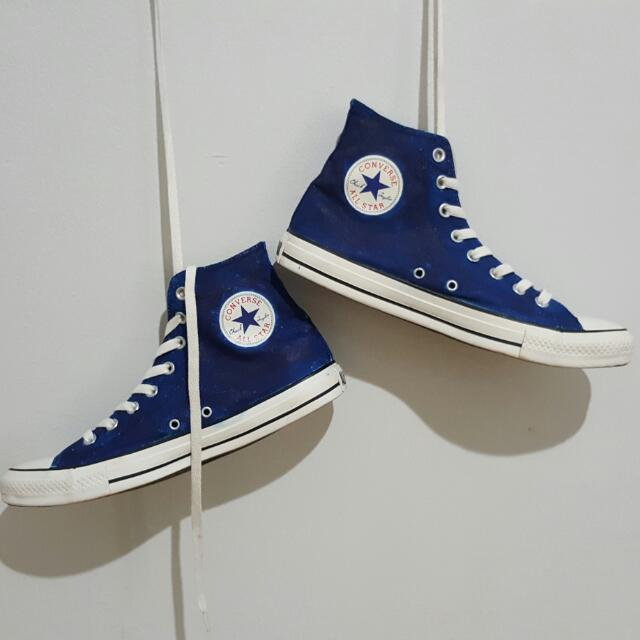 Converse Basic Bluejeans Custom Colour