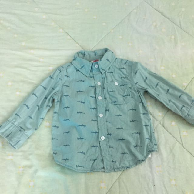 Cotton on kid's longsleeves polo