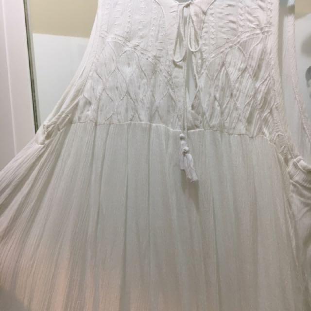 Cotton On White Dress