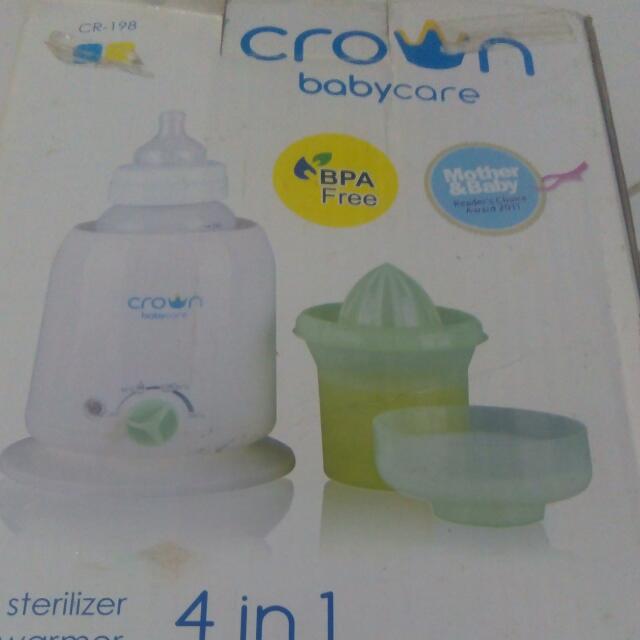 Crown 4 In 1 Baby Machine