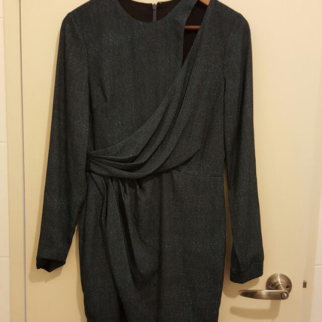 Denim Look Sheike Dress